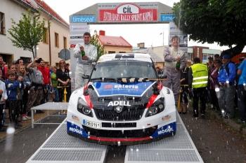 Rallysprint Kopná 2014 (Víťa Bezděkovský a Christian Salzmann)