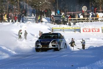 Švédská rally 2010